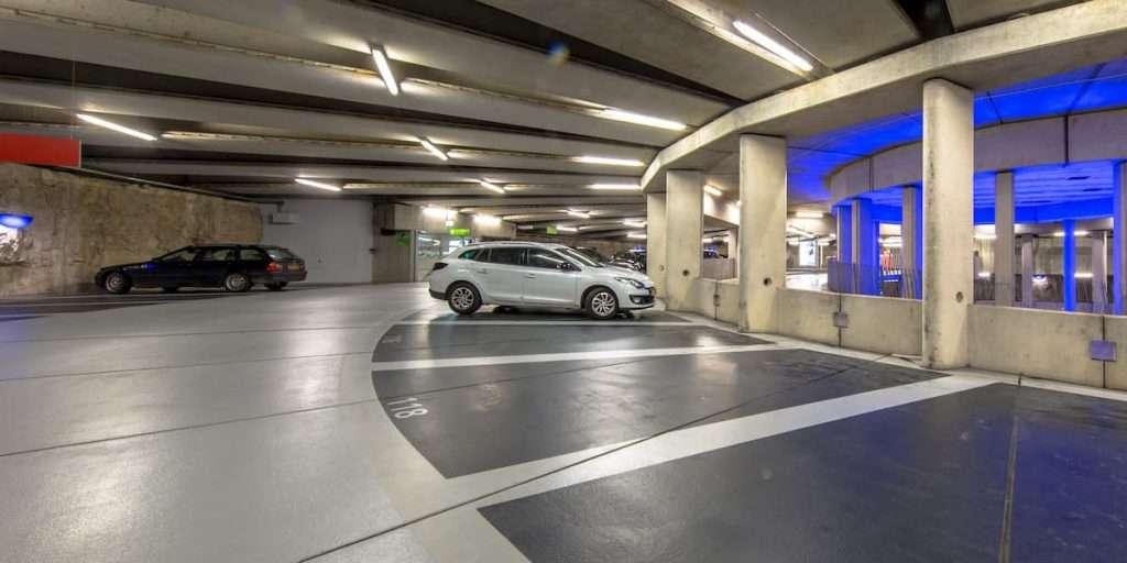 epoxy-flooring-underground-parking-garage-modern